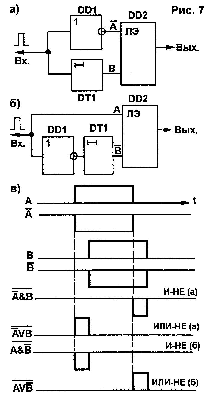 схема моновибратора